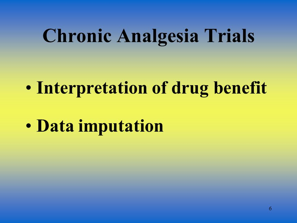 7 Drug Benefit End-of-the-trial (time-specific) measurement: drug effect at the end of the trial TWA: average effect through the trial Consistency of drug benefit over time