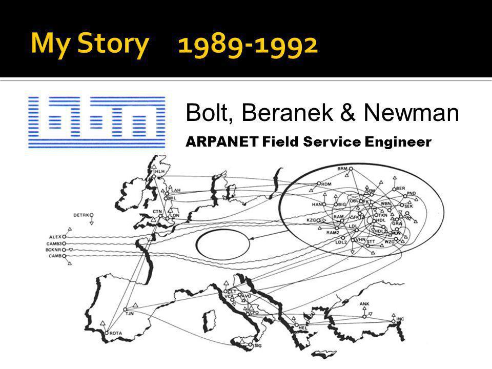 Bolt, Beranek & Newman ARPANET Field Service Engineer