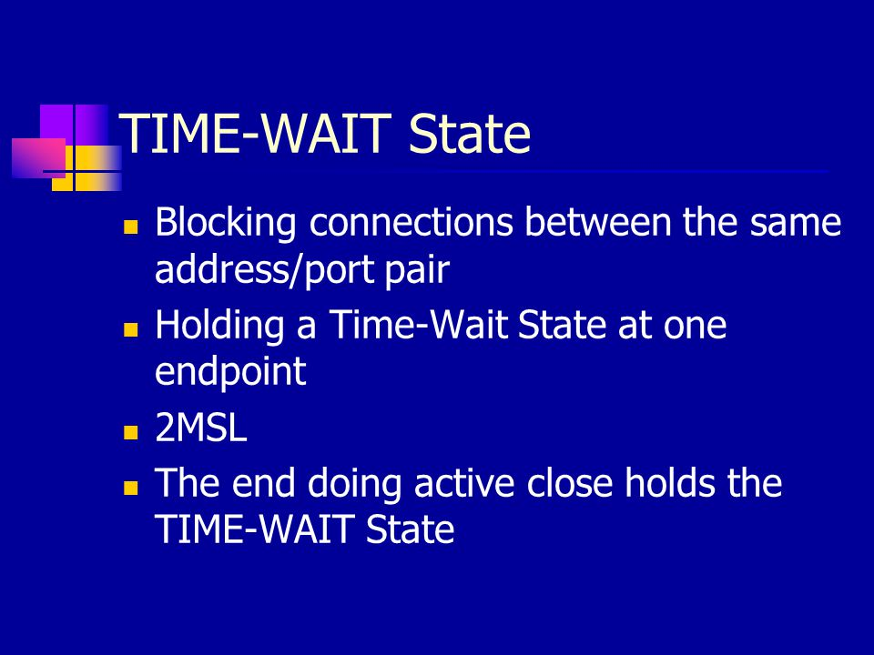 TIME-WAIT State