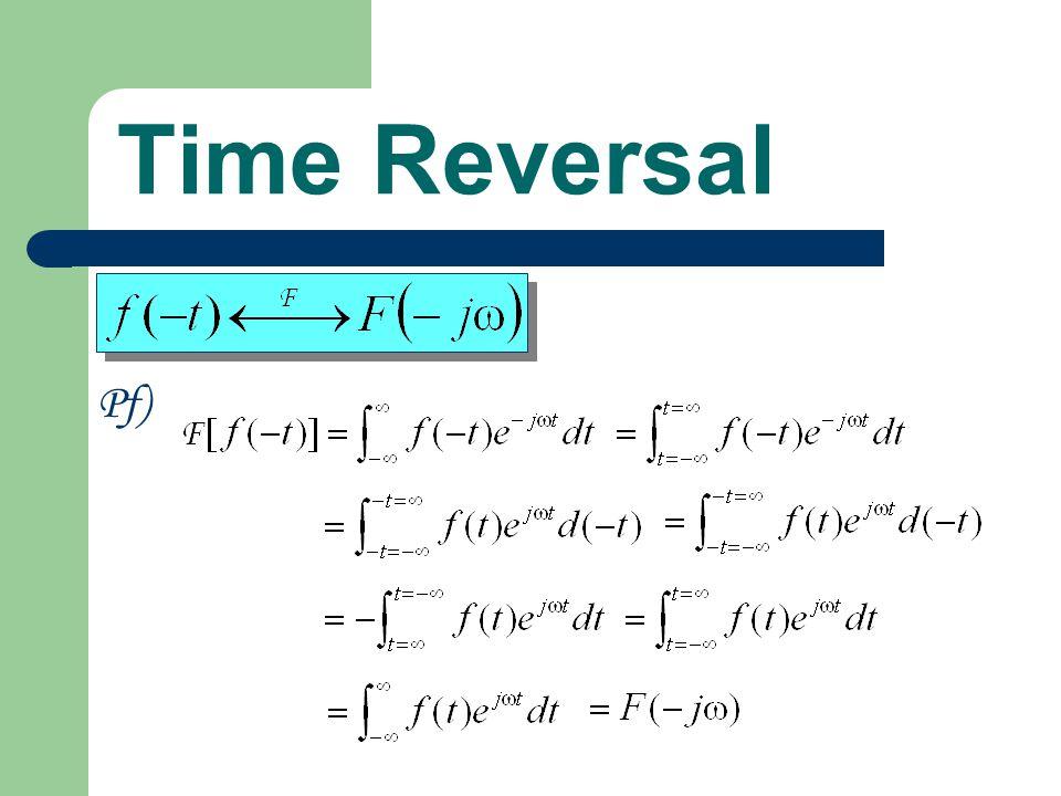 Time Reversal Pf)