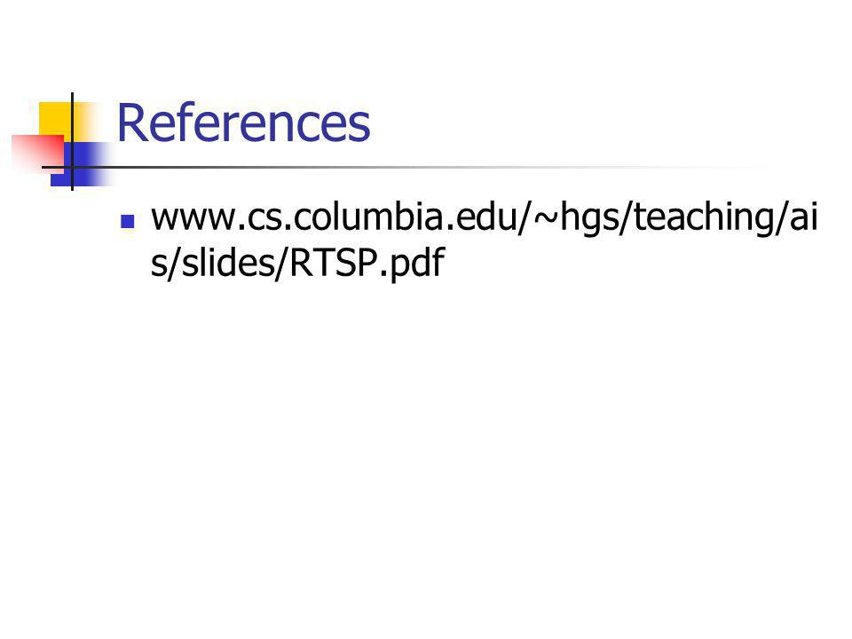 References www.cs.columbia.edu/~hgs/teaching/ai s/slides/RTSP.pdf