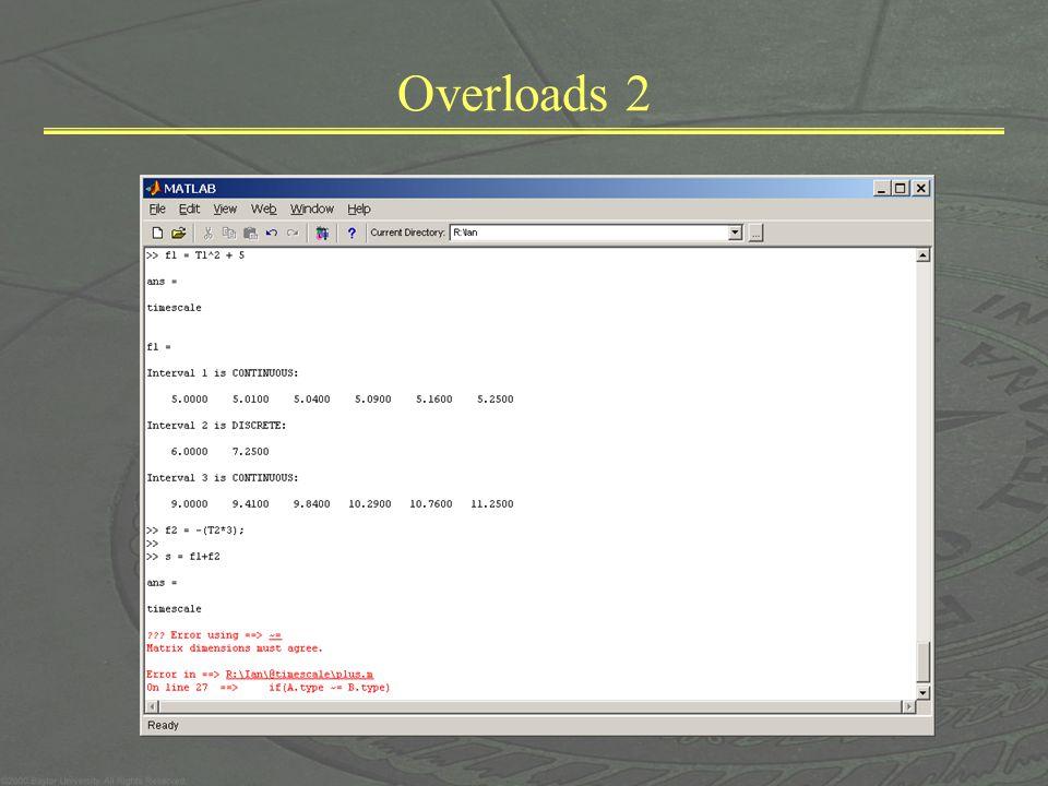 Overloads 2