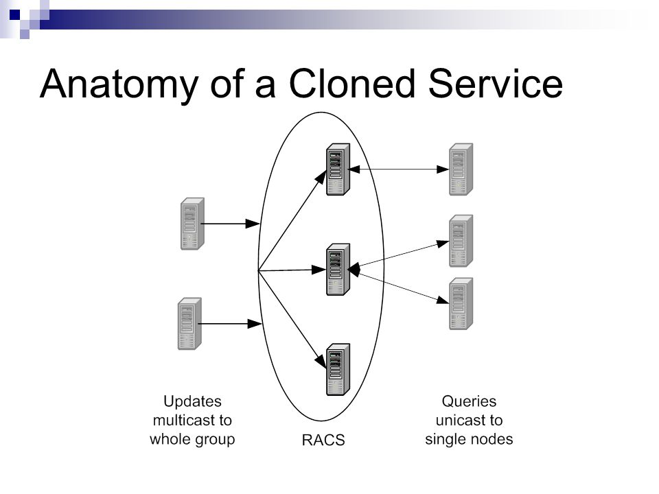Anatomy of a Cloned Service