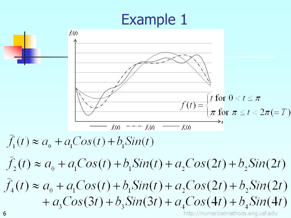 http://numericalmethods.eng.usf.edu6 Example 1