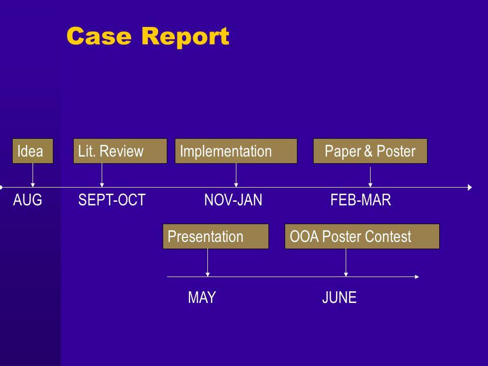 Case Report IdeaLit.