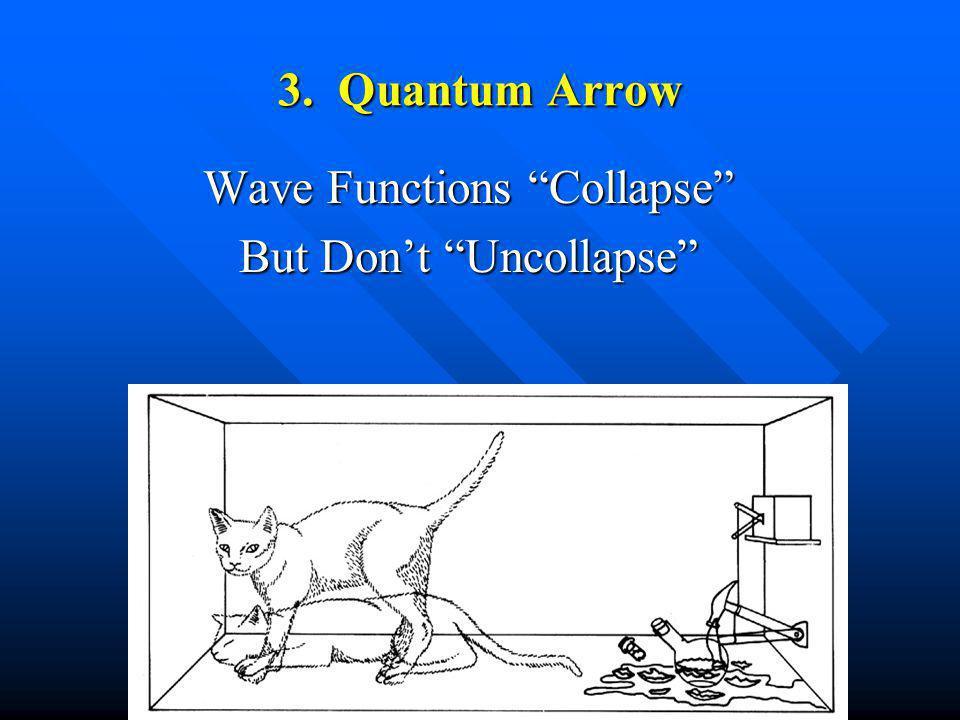 3. Quantum Arrow Wave Functions Collapse But Dont Uncollapse