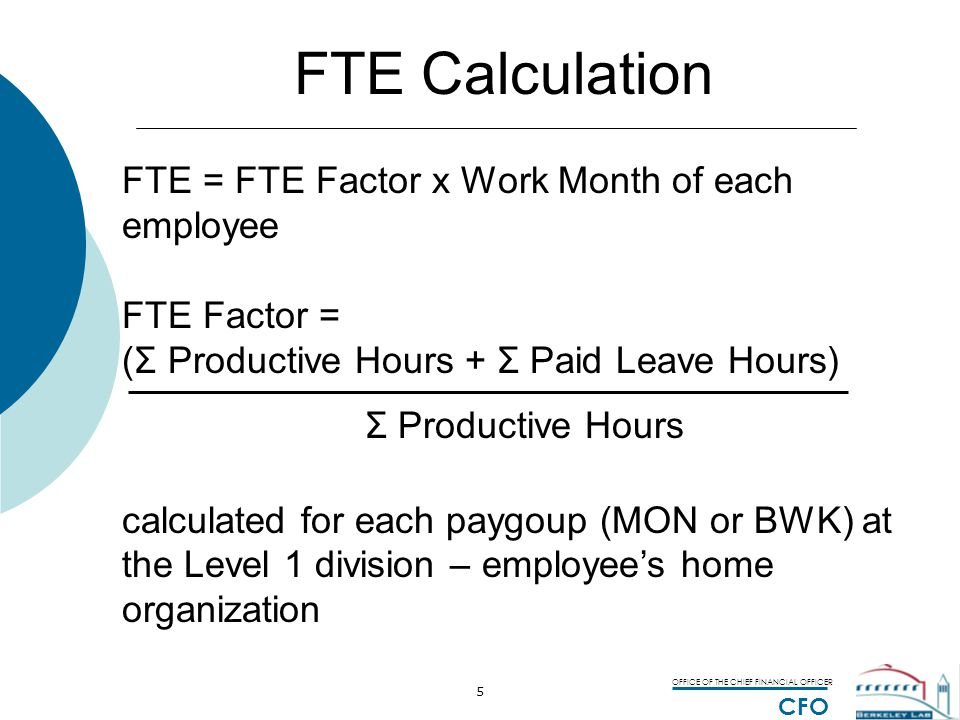 OFFICE OF THE CHIEF FINANCIAL OFFICER CFO 16 Sample Effort Analyzer Report 2 FY06 YTD Ave FTE