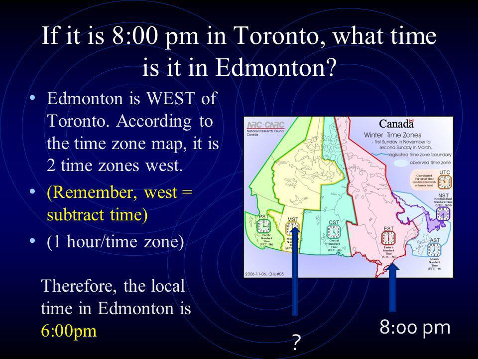 If it is 5:00 pm in St.Johns, what time is it in Toronto.