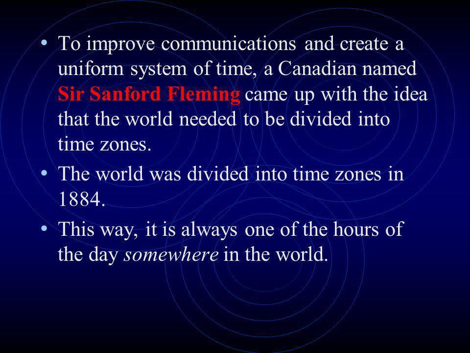 Canadas Time Zones