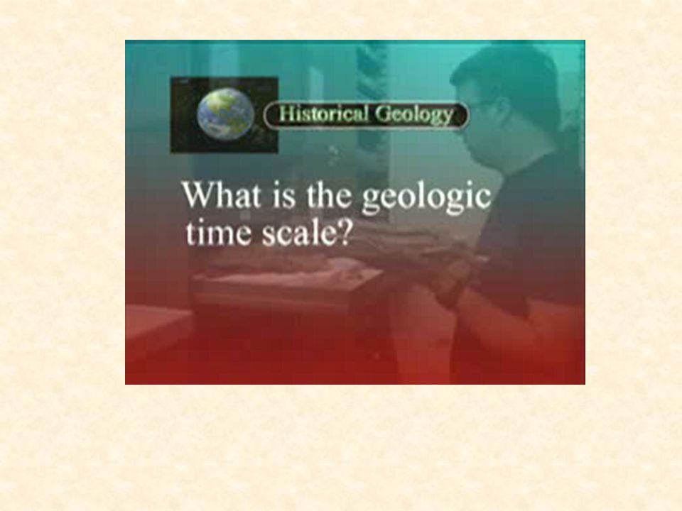 What is the Earths time scale.