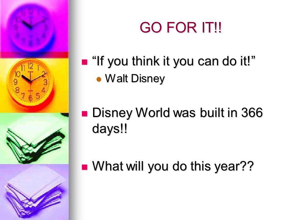 GO FOR IT!. If you think it you can do it!If you think it you can do it.