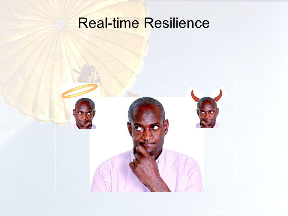 Real-time Resilience 4 POC: ASC MRT, DSN 793-4847