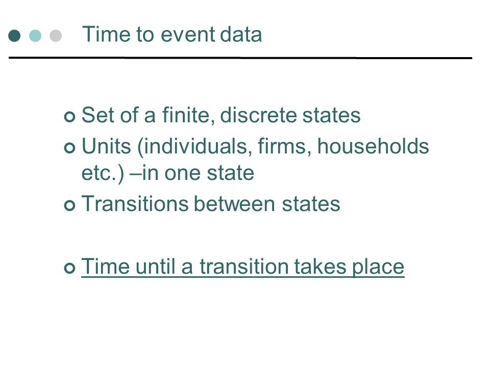 The data Duration = 6 years Event = 1 Ignore data after event = 1