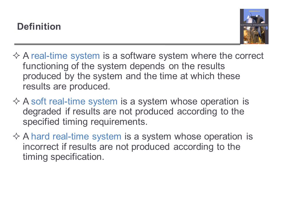 Key points There are several standard patterns that can be observed in different types of embedded system.