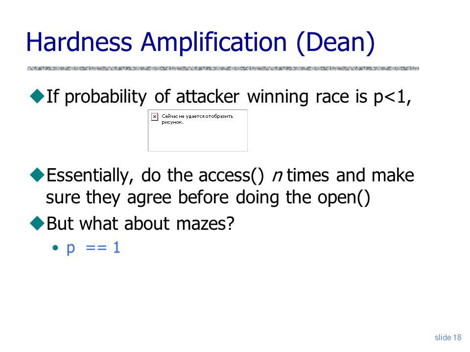 Take 2 – (Tsafrir 08) uIdea: Column-oriented traversal in userspace /a/b/c/...