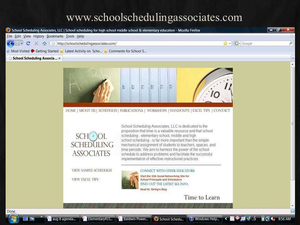 www.schoolschedulingassociates.com