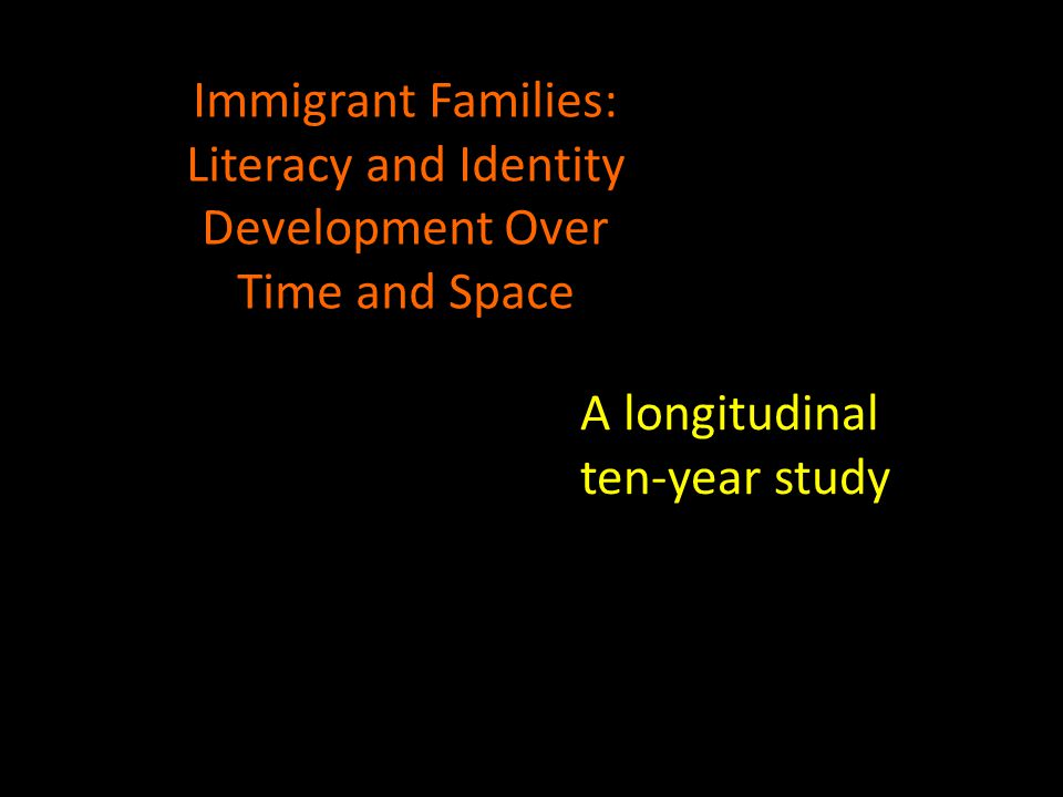 A longitudinal ten-year study