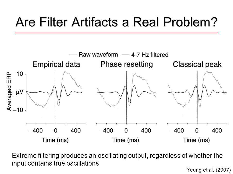 Are Filter Artifacts a Real Problem. Yeung et al.