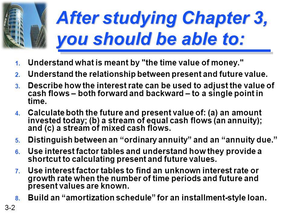 3-23 FV 5 FVIF $16,110 u Calculation based on Table I: FV 5 = $10,000 (FVIF 10%, 5 ) = $10,000 (1.611) = $16,110 [Due to Rounding] Story Problem Solution FV n FV 5 $16,105.10 u Calculation based on general formula: FV n = P 0 (1+i) n FV 5 = $10,000 (1+ 0.10) 5 = $16,105.10