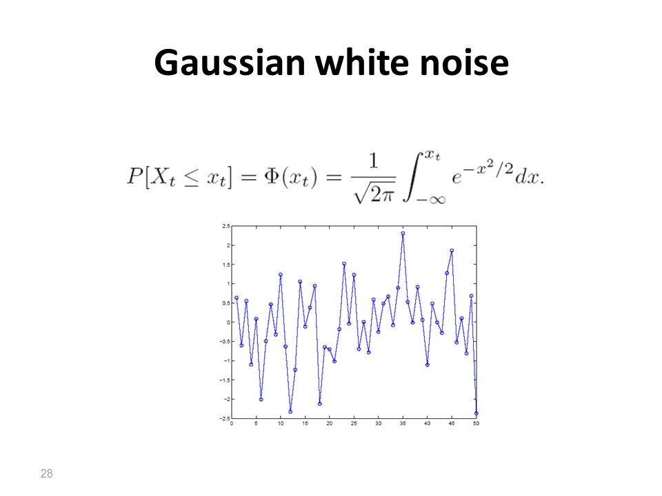 Gaussian white noise 28