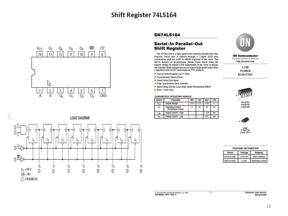 Shift Register 74LS164 18