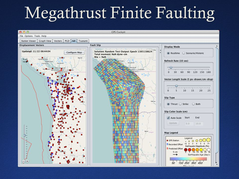 Megathrust Finite FaultingMegathrust Finite Faulting