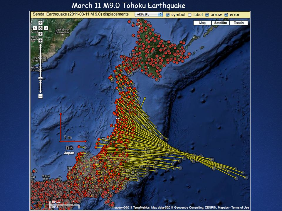 March 11 M9.0 Tohoku Earthquake