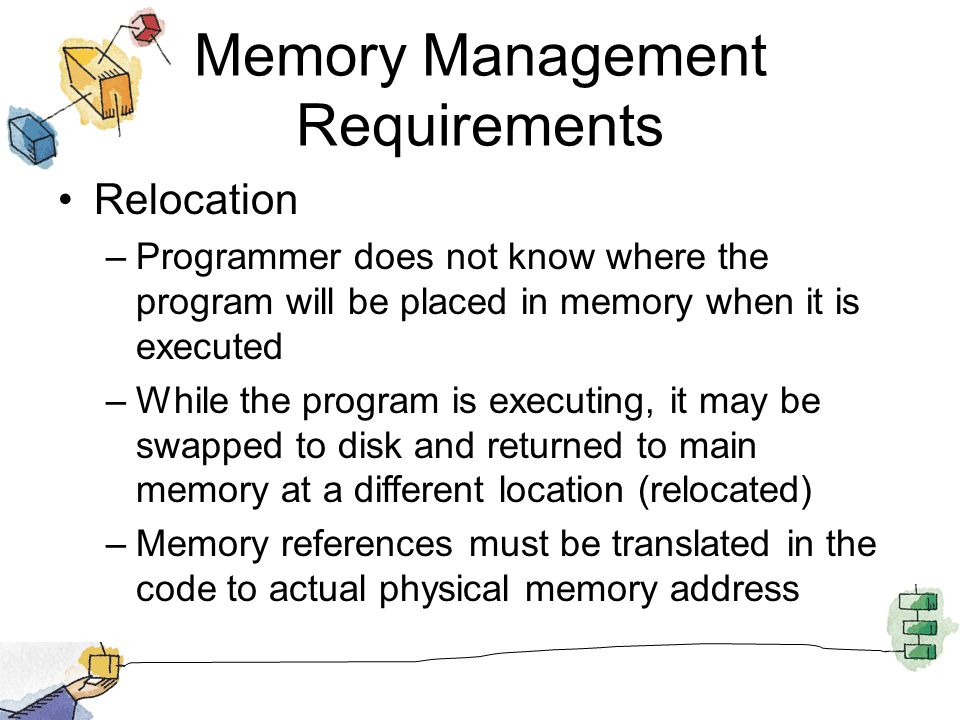 Addressing Requirement