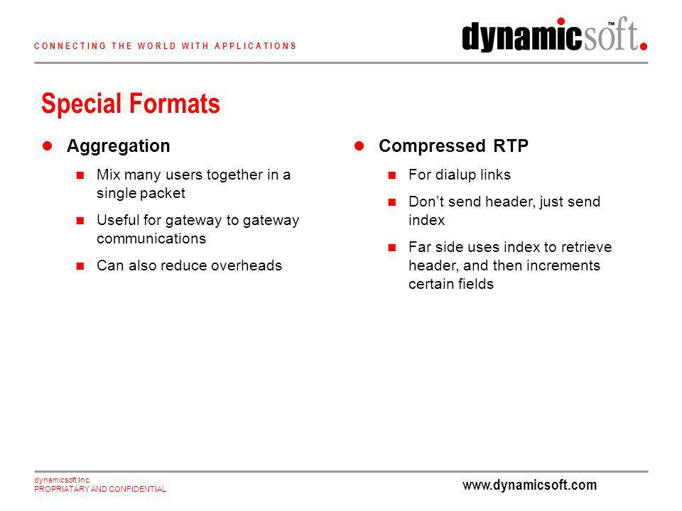www.dynamicsoft.com dynamicsoft Inc.