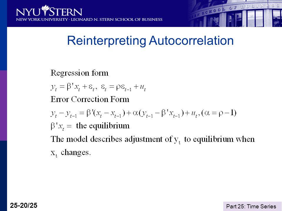 Part 25: Time Series 25-20/25 Reinterpreting Autocorrelation