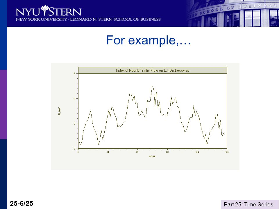 Part 25: Time Series 25-6/25 For example,…