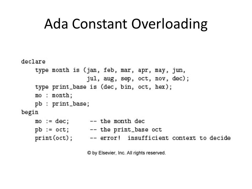 Ada Constant Overloading