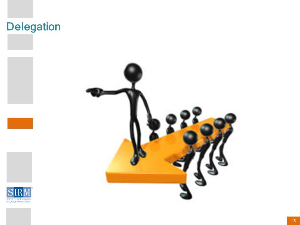 15 Delegation