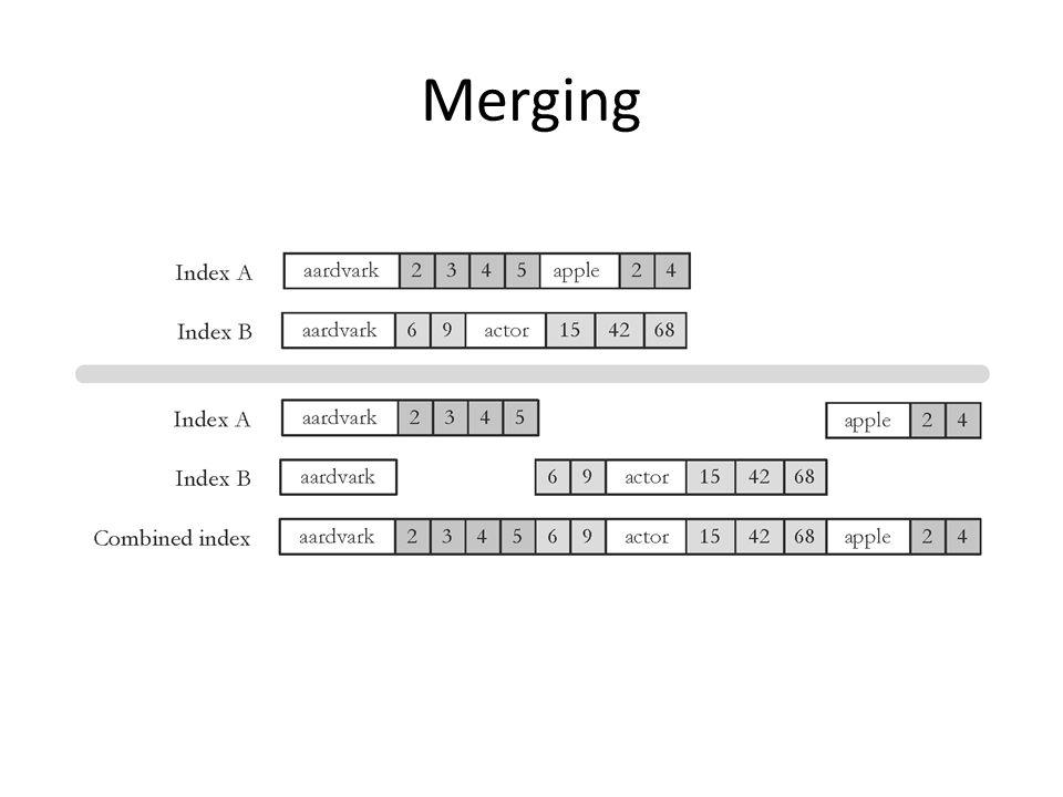 Merging