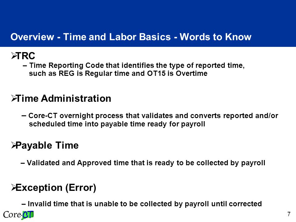 8 Overview - Password Reset Time & Labor Security allows employees to have their password automatically reset.