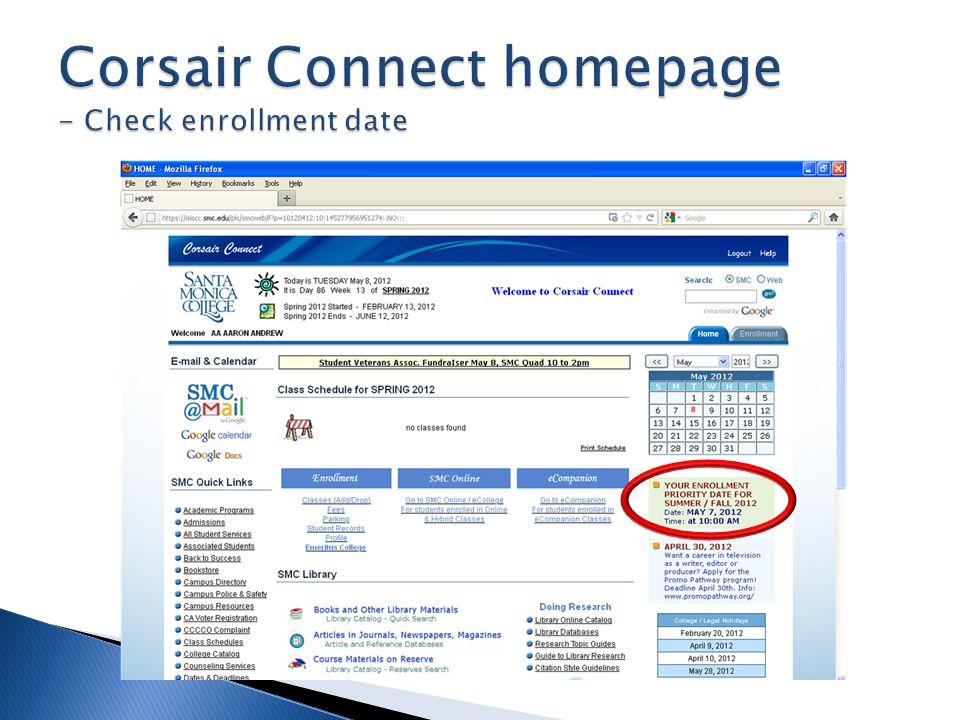 Check SMC email address & network login information
