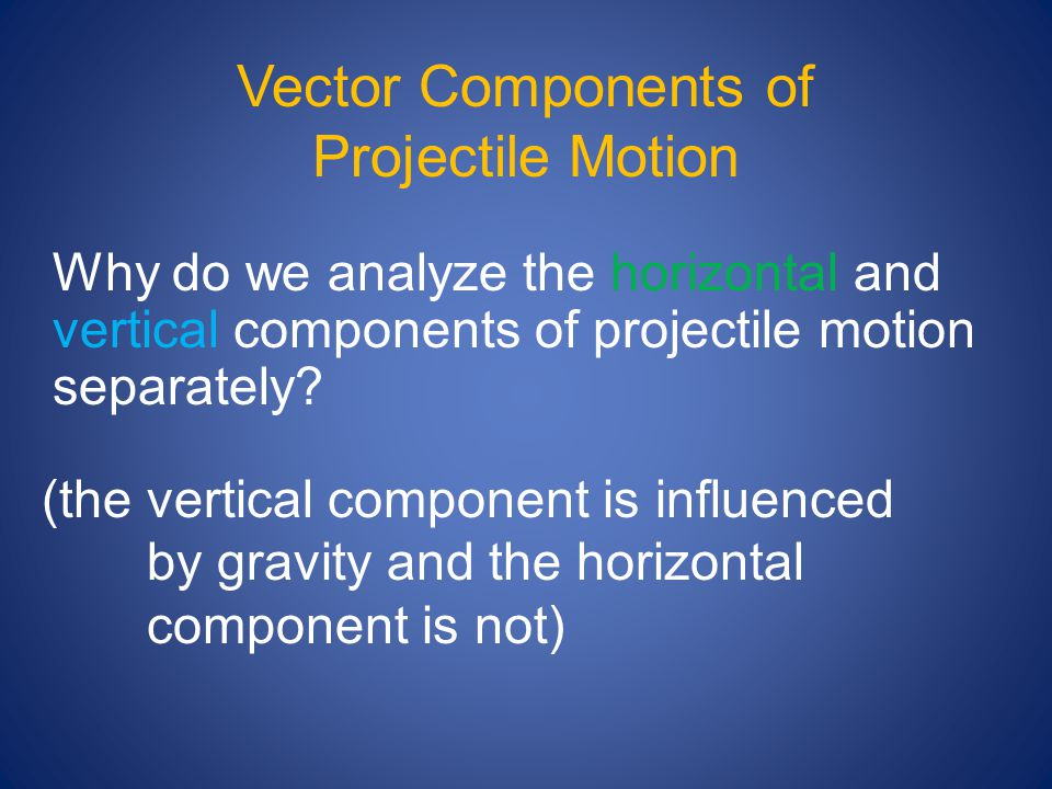 "Presentation ""Kinematics of Projectile Motion What is a projectile ..."