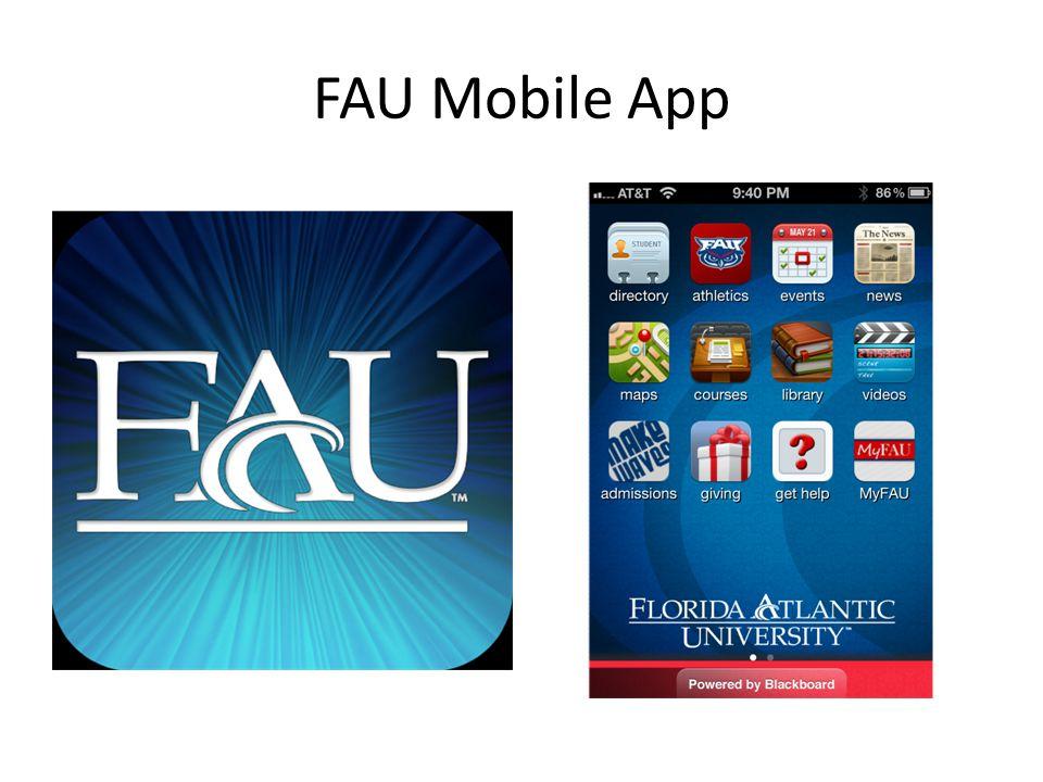 FAU Mobile App