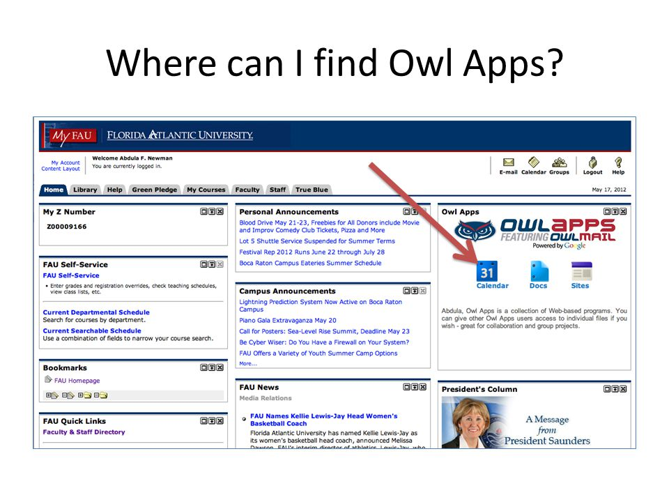 Where can I find Owl Apps