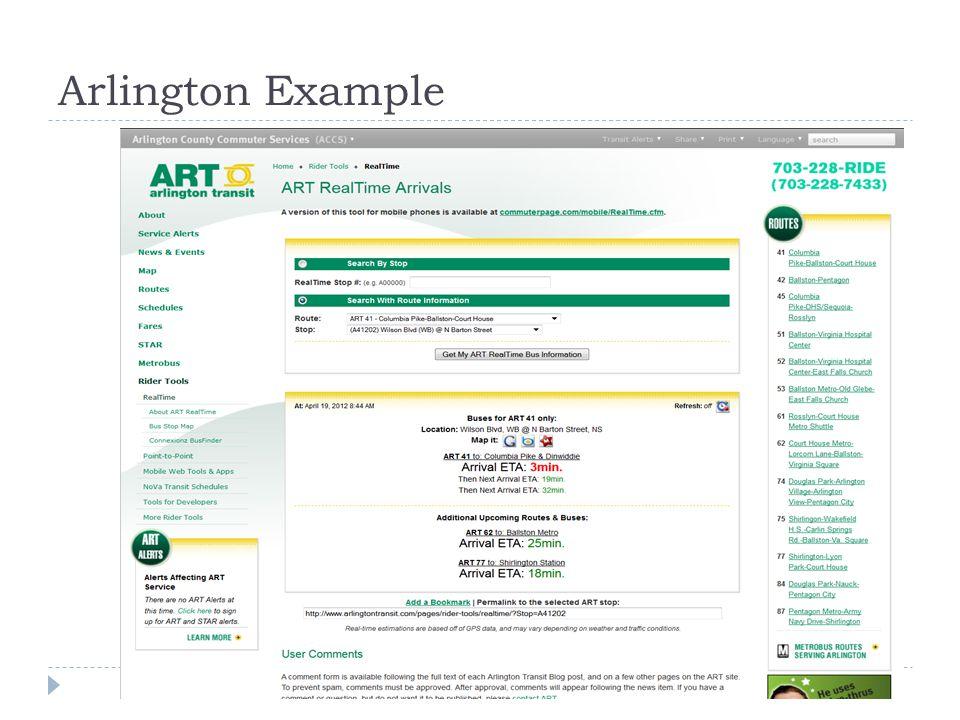 Arlington Example