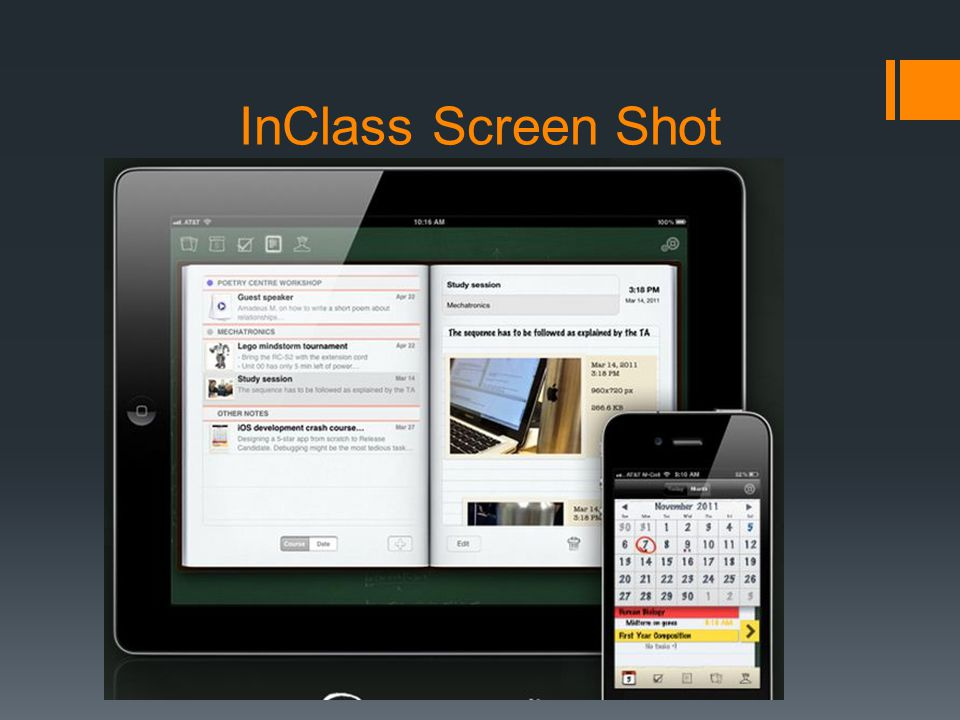 InClass Screen Shot