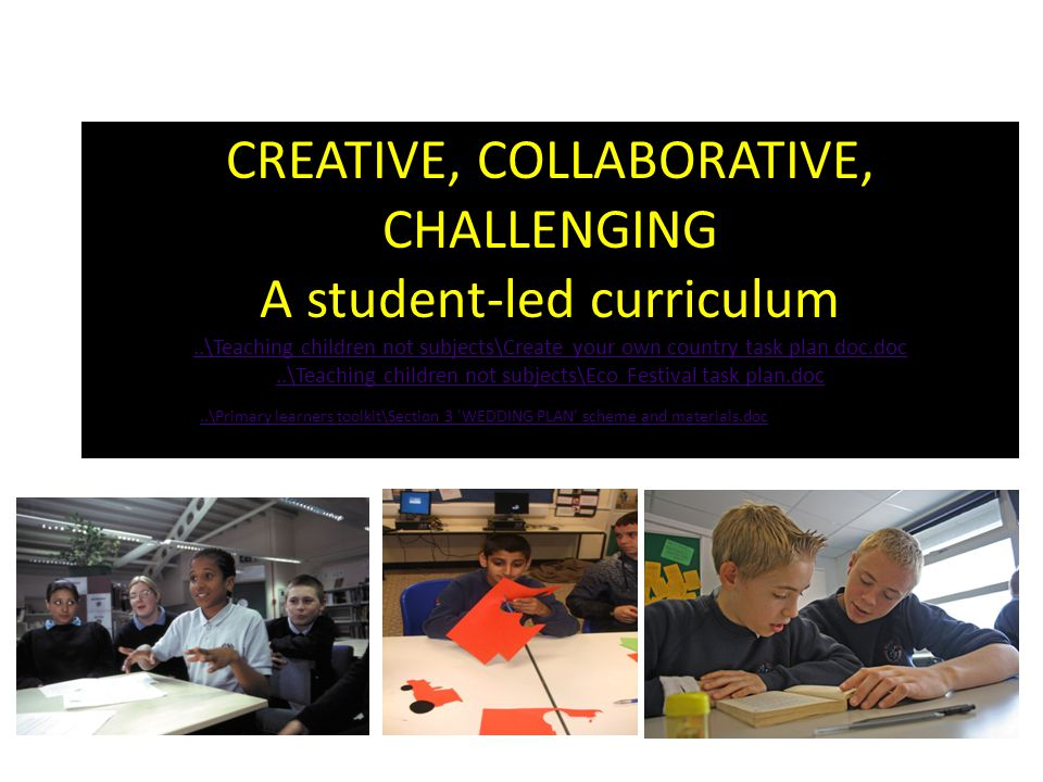 CREATIVE, COLLABORATIVE, CHALLENGING A student-led curriculum..\Teaching children not subjects\Create your own country task plan doc.doc..\Teaching ch