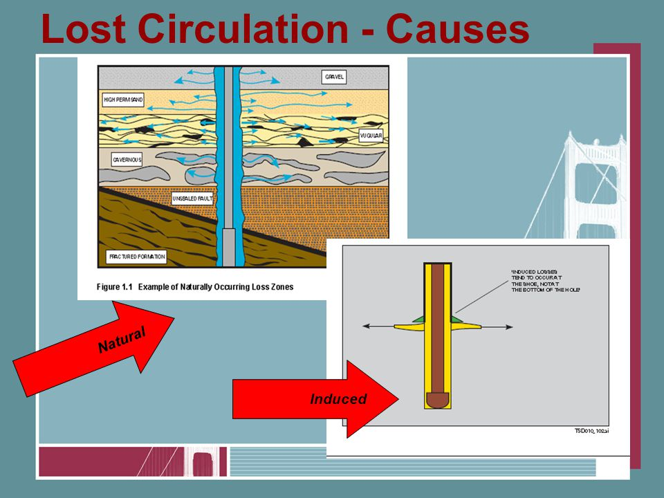 Lost Circulation - Causes Induced Natural