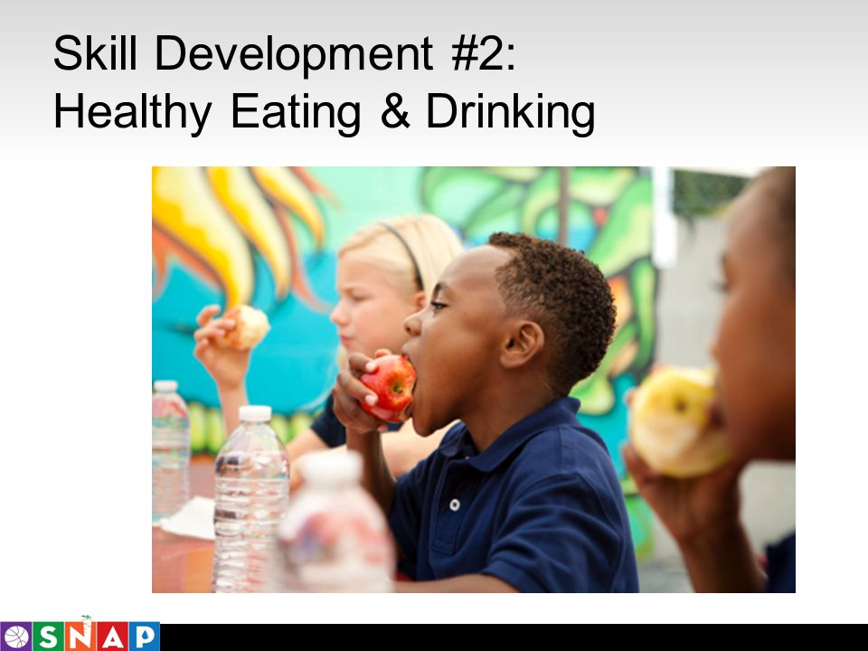 Skill Development #2: Healthy Eating & Drinking