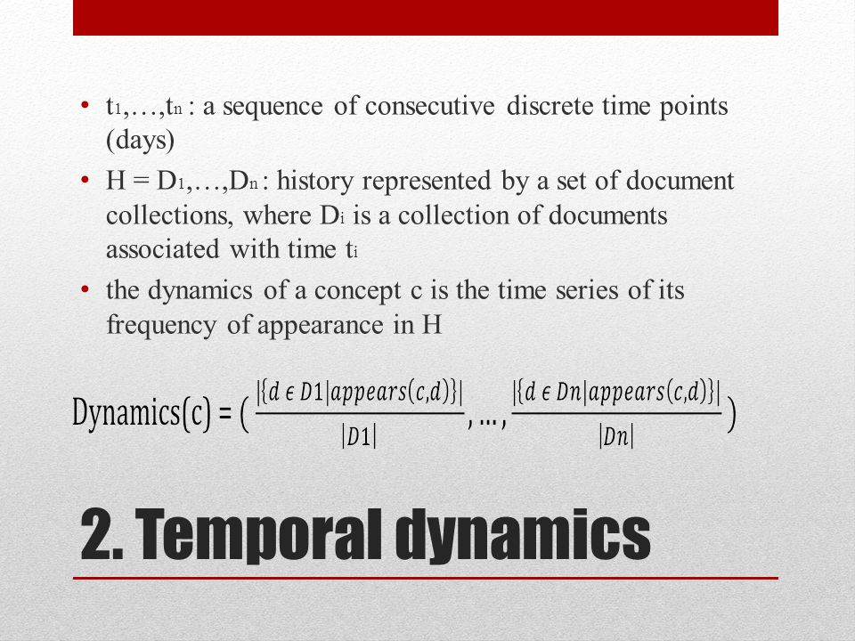 TSA vs. Temporal Word Similarity