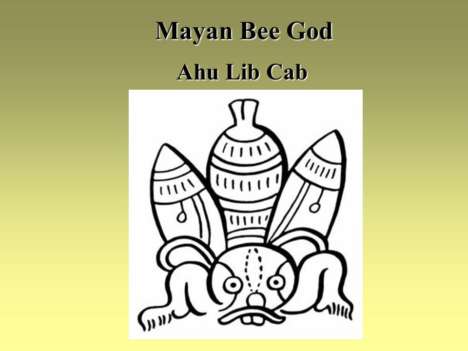 Mayan Bee God Ahu Lib Cab