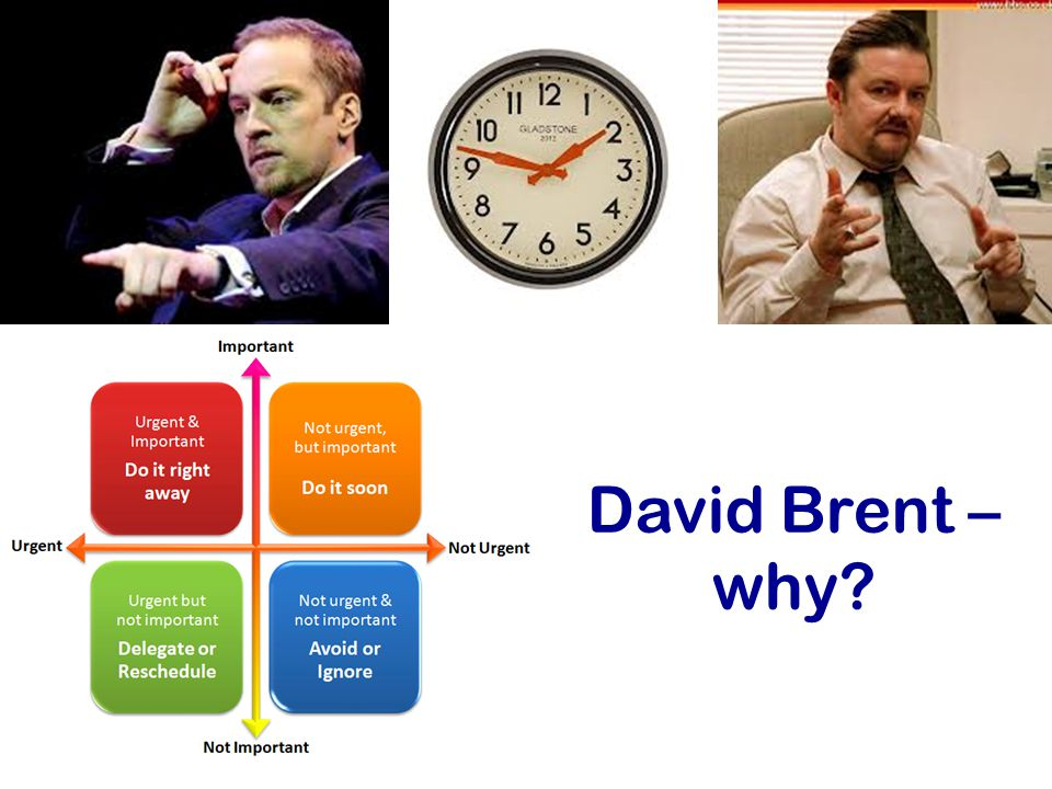 David Brent – why?