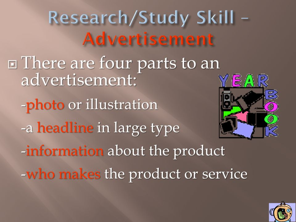 All advertisements sell a product or service. Advertisements want their product or service to appear the best.