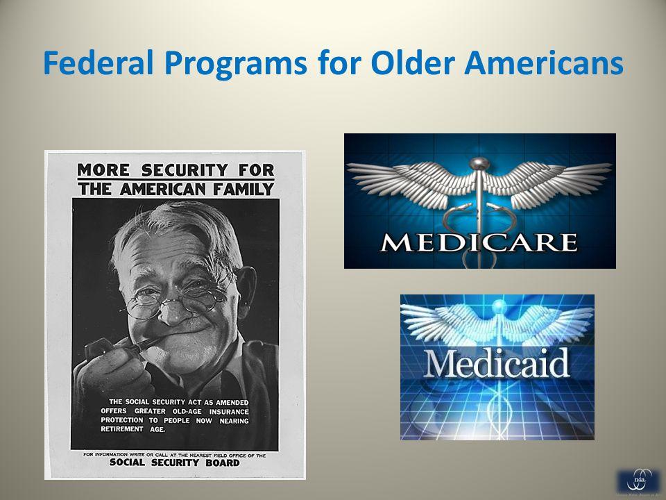 Federal Programs for Older Americans