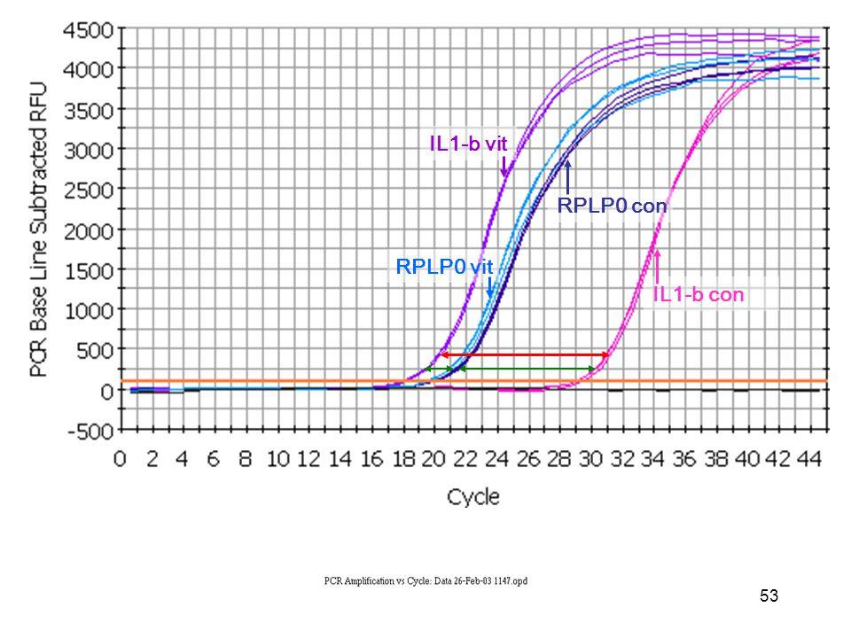 53 IL1-b con IL1-b vit RPLP0 vit RPLP0 con